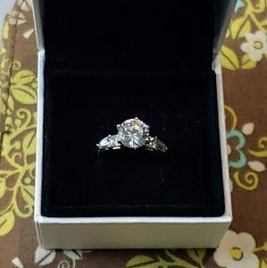 Jewelry - 14K CZ Diamond Solitaire Ring